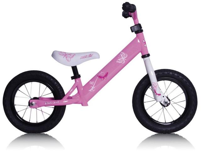 "Rebel Kidz Air Laufrad 12,5"" Kinder pink"